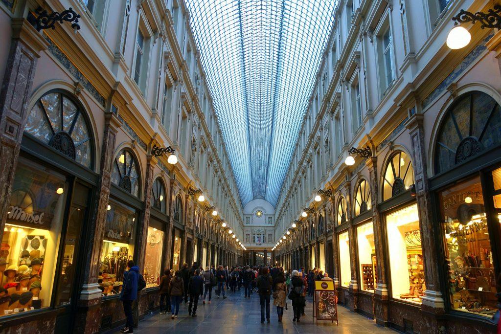 two days in Brussels Galerie de la Reine