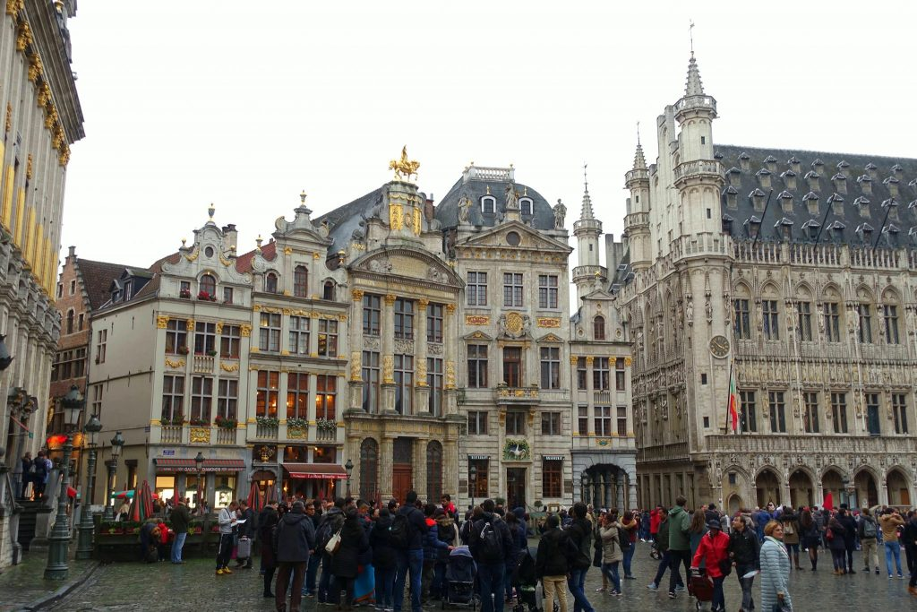 2 days in Brussels grand place