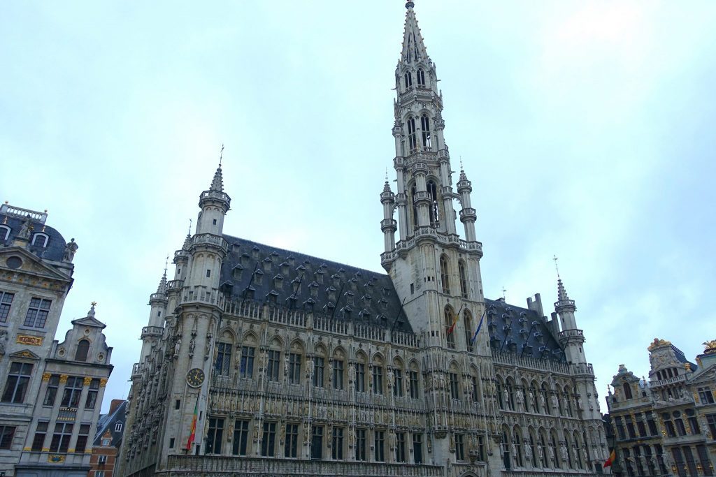 two days in Brussels town hall