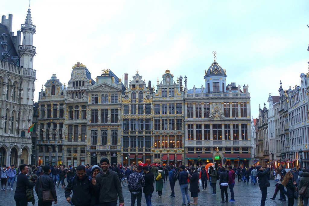 two days in Brussels grand place
