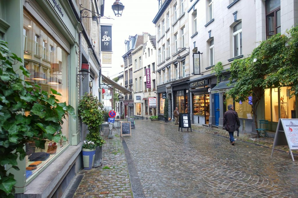 2 days in Brussels little streets