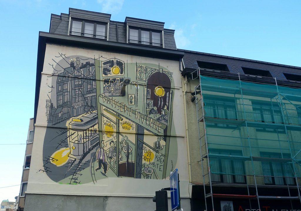 two days in Brussels street art