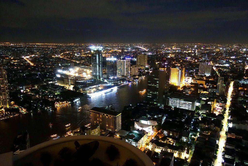 Lebua Sky Bar night view