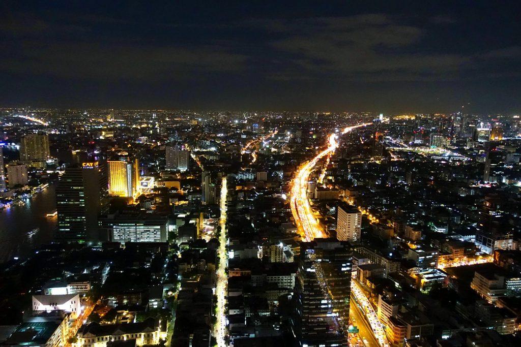 Lebua Sky Bar at night