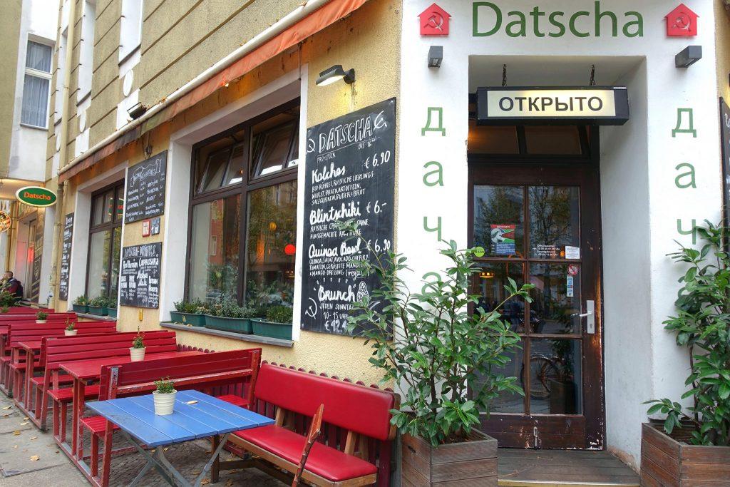 Restaurant Datscha Berlin Friedrichshain-Kreuzberg Russian food
