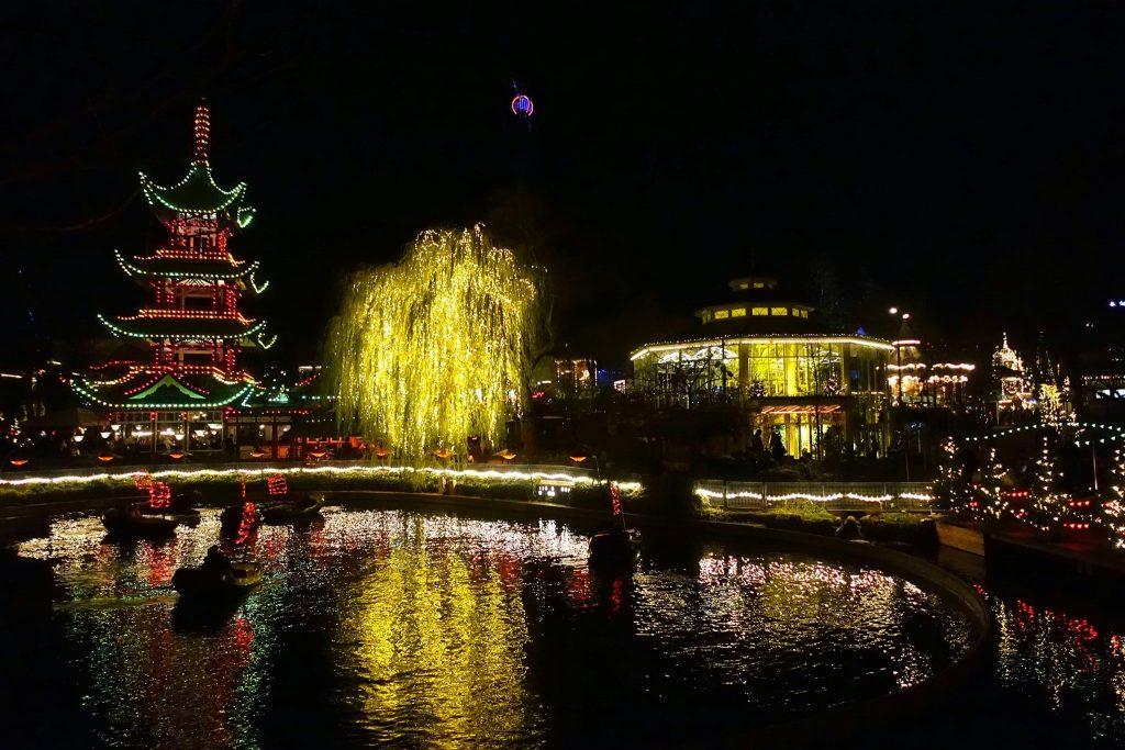 Christmas time in Copenhagen visiting Tivoli