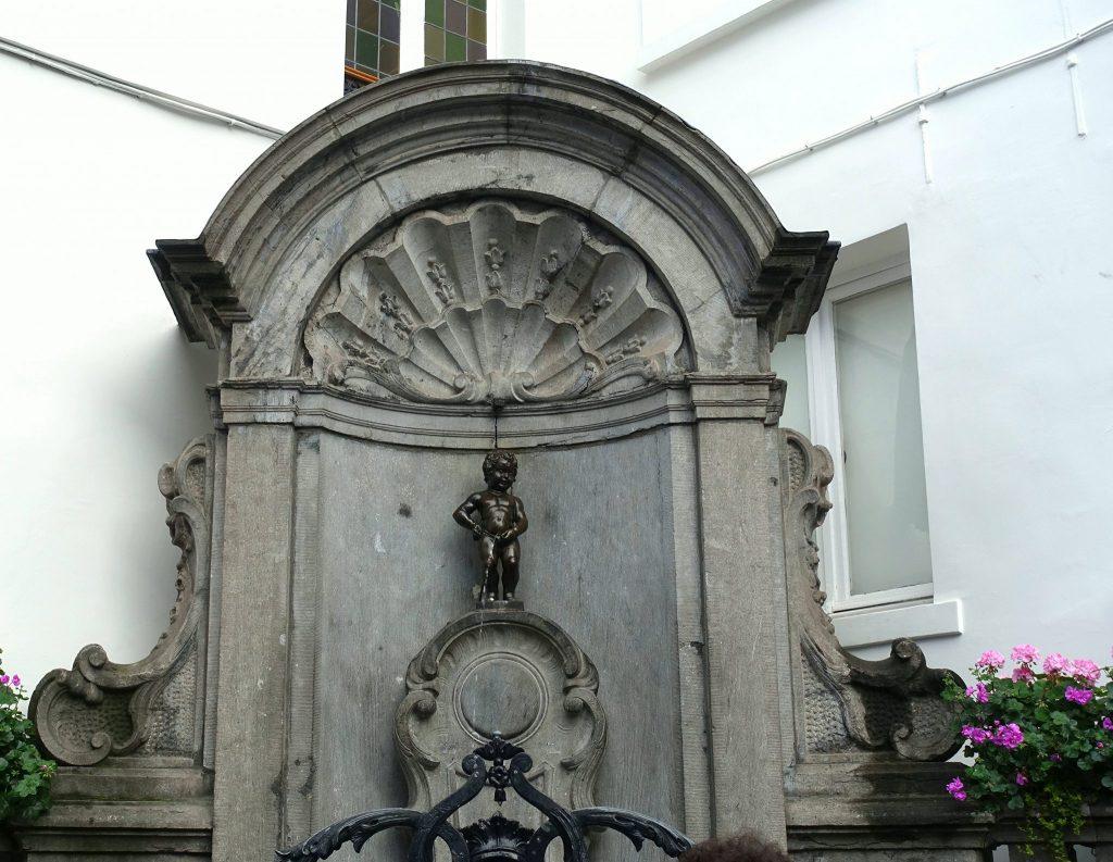 two days in Brussels Manneken Pis
