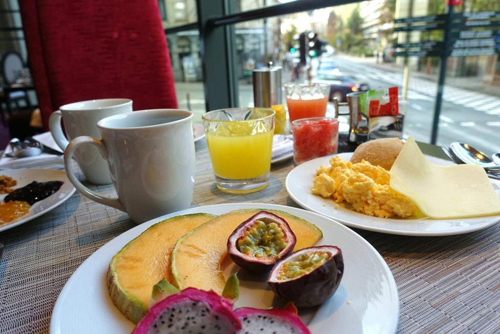 Sofitel L'Europe Brussels breakfast